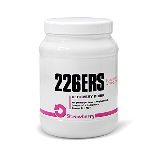 226ERS Recovery Drink Recuperador Muscular, Sabor Fresa - 600 gr