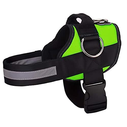Joyride Harness Hundegeschirr mit 3 Seitenringen für die Leine, verstellbar, weich gepolstert, für Training, Spazierengehen, Laufen, kein Zerreißen mit Easy On-Off Technologie