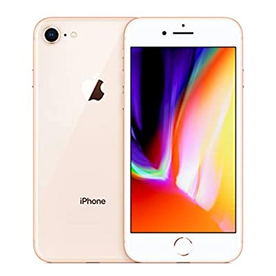 Apple iPhone 8, 64GB, Gold - For AT&T / T-Mobile (Renewed) by Apple Computer