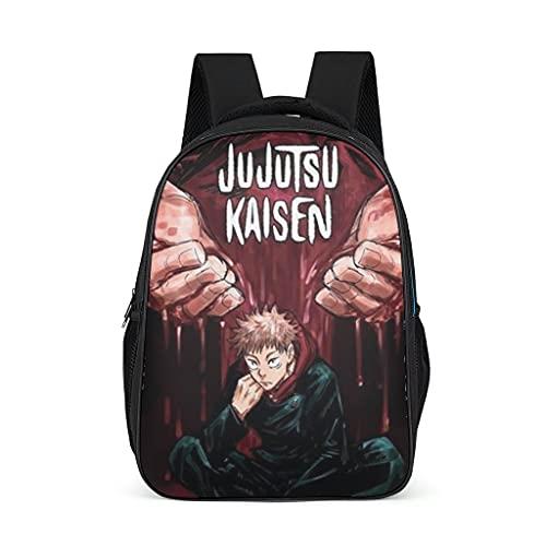 Mochila Jujutsu Kaisen Sukuna Design Bookbag 3d Print Daypack Laptop Bag para adultos y niños, color, talla Talla única