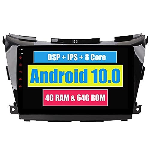 RoverOne 10,2 Pouces Système Android Octa Core pour Nissan Murano Z52 2015 + Lecteur multimédia de Voiture avec autoradio stéréo Radio de Navigation GPS Bluetooth Mirror Link écran Tactile