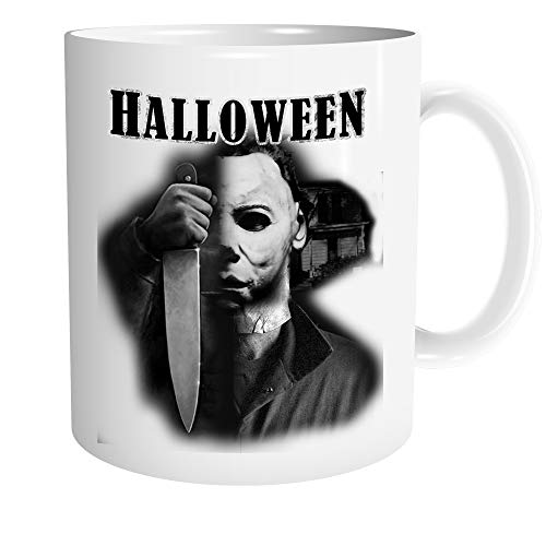 Uglyshirt89 Halloween Tasse | Kaffeetasse Teetasse Geschenk Horror Michael Myers Party Horror Kult | M4
