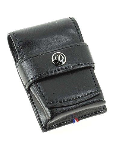 S.T Dupont D-180024 Line D Leather Lighter Case - Black
