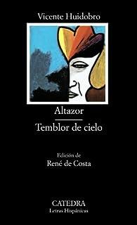 Altazor; Temblor de cielo par Vicente Huidobro