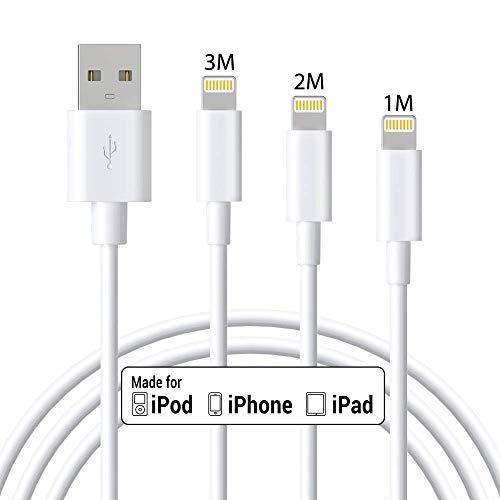 ⚡️【Cavo Professionale Apple Certificato MFI】 Siamo professionisti nella produzione di cavi per iPhone. Marchpower Cable Lightning ha approvato la certificazione MFI di Apple per la nostra eccellente qualità. Con il chip e il terminale smart Apple ori...