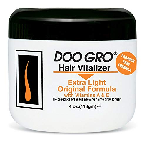 DOO GRO Medicated Hair Vitalizer Extra Light Original Formula, 4 oz (Pack of 2)