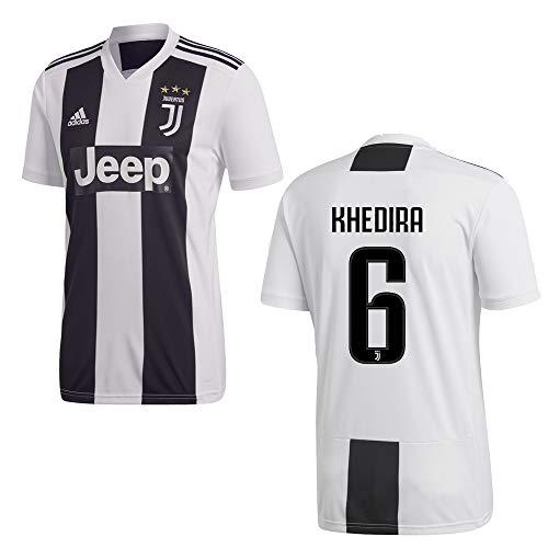 adidas Juventus Turin Trikot Home Kinder 2019 - KHEDIRA 6, Größe:164