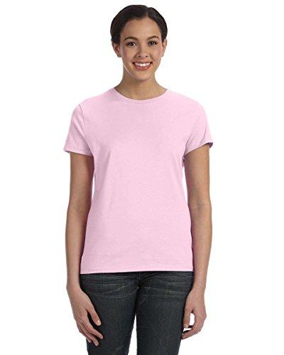 Hanes Women's Nano T-Shirt, Large, Pale Pink