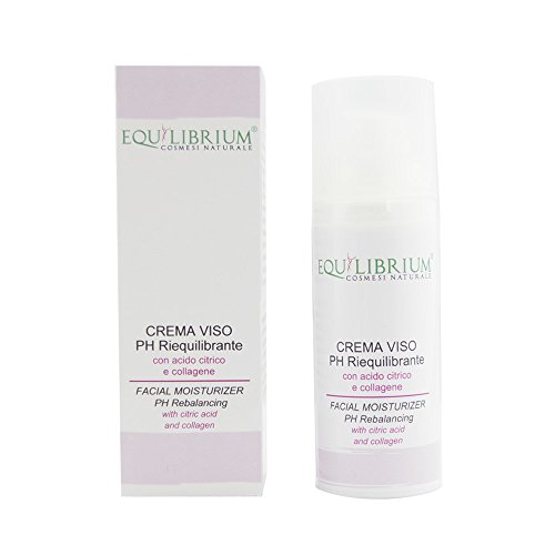Equilibrium - Cosmétique naturel Crème pour le visage équilibrant le PH 50 ml avec acide citrique et collagène