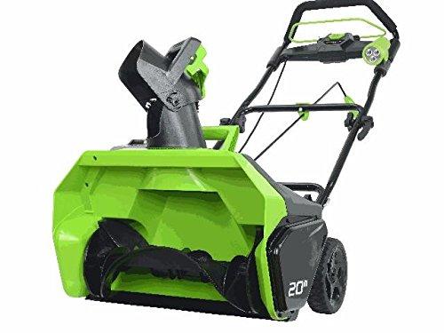 Greenworks Akku Schneefräse 40 V, Arbeitsbreite: 51 cm, Auswurfsweite: max. 5,5 m, bürstenloser DigiPro-Motor