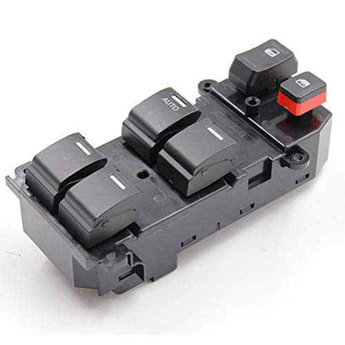 DONGMAO Interruptor de la Ventana de alimentación Lado del Conductor Interruptor de la Ventana Maestra eléctrica Izquierda para Honda CRV 2007 2008 2009 2010 2011