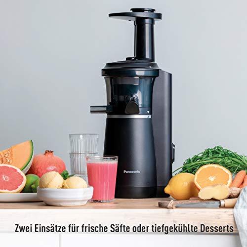 Slow Juicer MJ-L501KXE Obst und Gemüse Entsafter Bild 3*