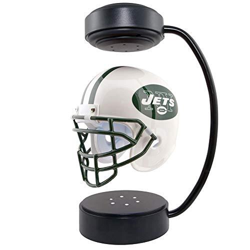 NFL Fan Collectibles Hover Football Helm,rotierende schwebende Helme mit elektromagnetischem Ständer und Atmosphäre Lampe, Rugby Fans Sport Erinnerungsstücke