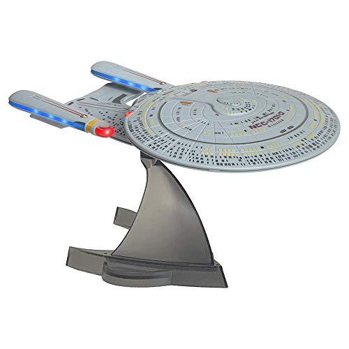 Star Trek U.S.S. Enterprise 1701-D – Enterprise Replica Bluetooth Speaker, Engine Noise Sleep Machine, Night Light, Sound Effects – Memorabilia, Gifts, Collectibles, Gadgets & Toys for Star Trek Fans