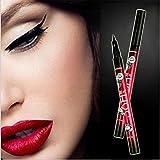 Yanqina Liquid Waterproof Lash Eyeliner Pencil (Black) - Pack 1