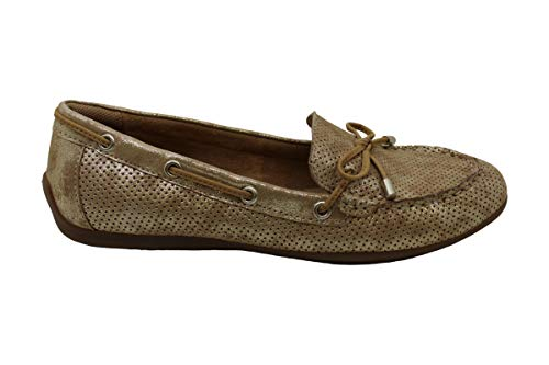 Comfortiva Women's Mindy Ii Light Gold Suedeflats-Shoes 9.5 B(M) US
