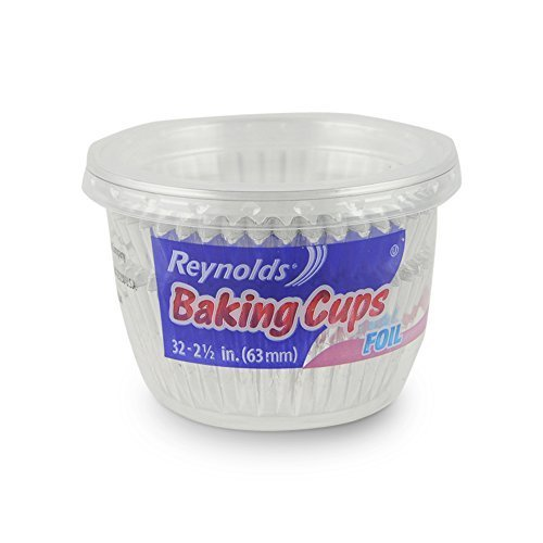 Reynolds Wrap Foil Baking Cups, 32 ct by Reynolds Wrap