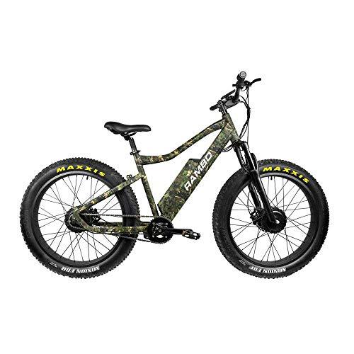 Rambo The Krusader 500W Performace Electric Bike-Viper Woodland