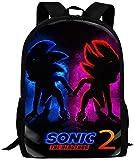 Bolsa para Laptop So-Nic The H-Edgehog Backpack Daypack Shoulder Bag Unisex F...