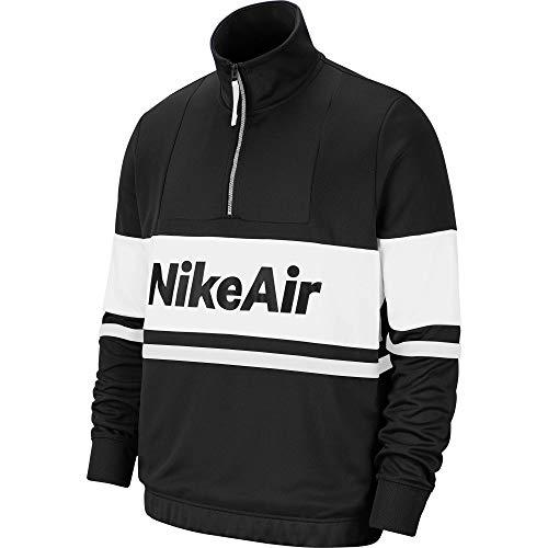 Nike M NSW Air JKT PK Jacket Veste pour Homme Noir/Blanc/Rouge