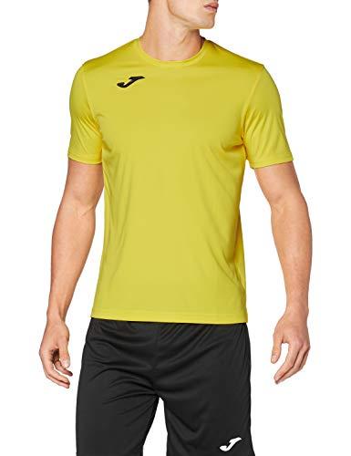 Joma Combi Camiseta Manga Corta, Hombre, Amarillo, XXL