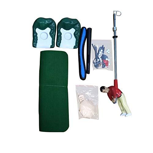 NBRR Juego de golf para interiores, mini juego de golf para hombre, juego de golf de interior, juguete adjunto al club de golf para sala de estar, familia y hogar