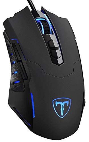 VicTsing Gaming Mouse Ergonomic Game Mouse with [7200 DPI] [Breathing LED Backlight] [Programmable] [7] for Gamer PC Laptop Computer Desktop Mac
