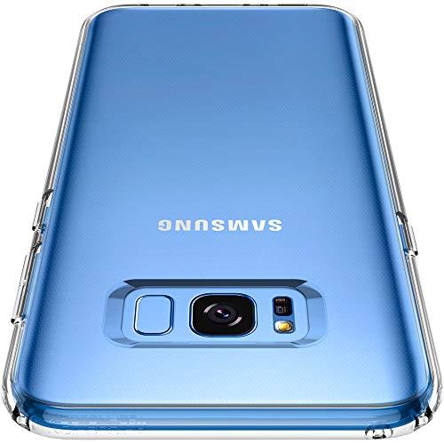 Spigen Cover Galaxy S8 Plus, Custodia [Liquid Crystal] Slim Protezione e Premium chiarezza per Galaxy S8+ (2017) - Trasparénte