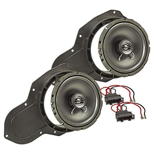 tomzz Audio 4057-008 Lautsprecher Einbau-Set passend für VW Passat 3C CC Tür...
