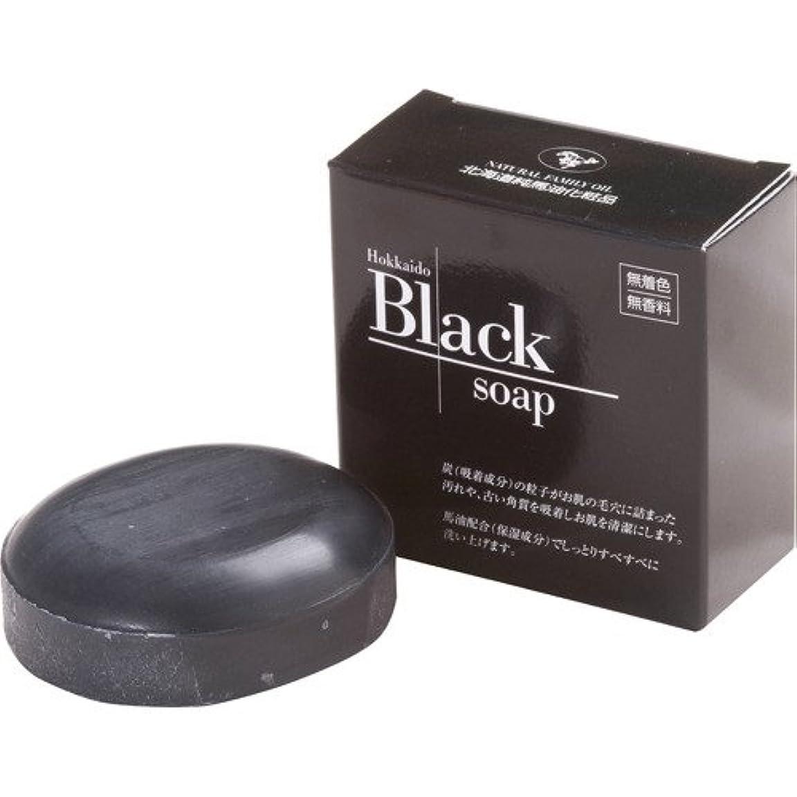 ディベートかなり明確な北海道黒石けん 100g