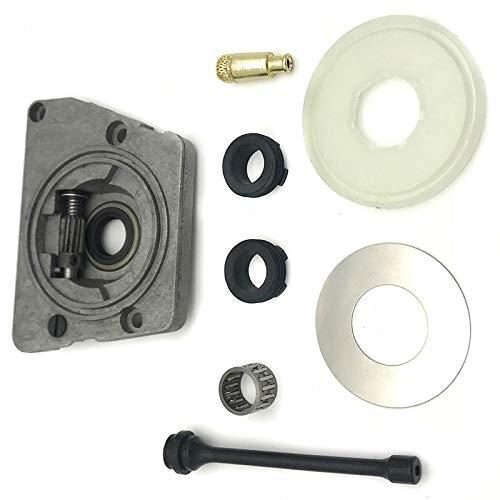 Kit de filtro de la manguera de la lavadora de polvo del engranaje de la bomba de aceite superior Ajuste para Husqvarna 61 66 266 268 272 xp 266xp 268P 268P 268P 268P Piezas de motosierra