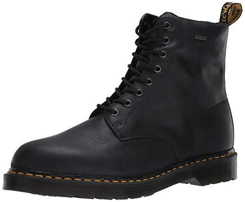 Dr. Martens Men's Lace Fashion Boot, Black Republic Wp, 11
