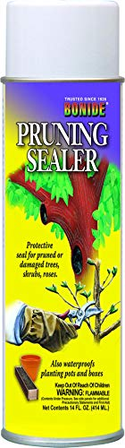 Bonide (BND221) - Aerosol Tree Pruning Sealer, Protective Wound Pruner Seal for Shrub, Tree, or Rose (14 oz.)