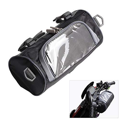 wendaby Tanktasche Für Motorräder, Wasserdicht, Motorrad-Telefon-Navigationssäcke wasserdichte Motorrad-Handy-Taschen Touchscreen Tankrucksack Schwarz