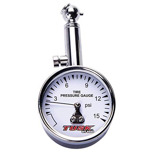 Tusk Low Pressure Dial Tire Gauge