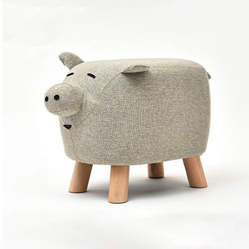 Der niedliche Kuhhocker-Make-uphocker der kreativen Karikatur sollte Nicht Schuhhockerhauptmultifunktionsmode-Kinderkleinsesselhocker tragen (Style : Cow)