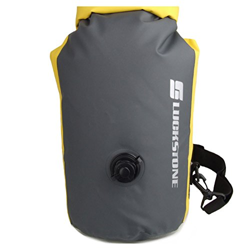 eForCrazy 20L Waterproof Dry Bag Roll Top Dry Compression Sack Keeps Valuables Dry With Shoulder Strap For Kayaking,Beach, Rafting, Boating, Hiking, Camping, Snowboarding