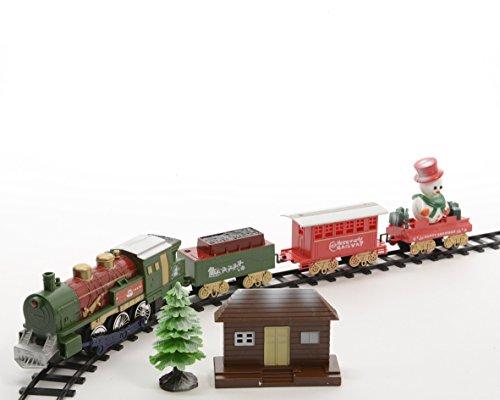 Izaneo Weihnachts-Zug Santa Express, elektrisch, Batterien