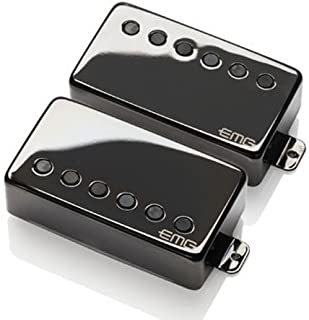 EMG JH Set James Hetfield Signature Pickup Set Standard Black Chrome