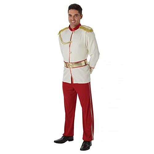 Rubie's Offizielles Disney-Prinzenkostüm für Herren, Prinz Charming, Größe XL