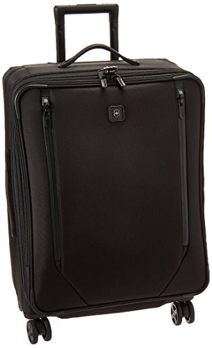 Victorinox Lexicon 2.0 Dual-Caster Medium Expandable Spinner, Black