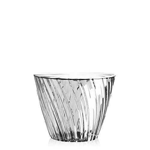 Kartell Sparkle Bas table basse transparent cristal