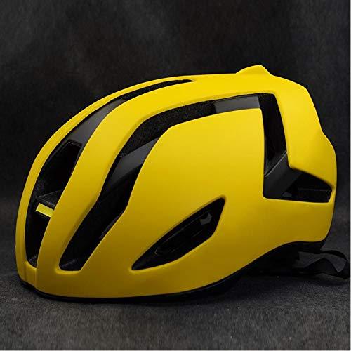 Casco de Ciclismo Bicicleta de Carretera Hombres Mujeres Bicicleta Deportiva Ultraligero Integralmente...