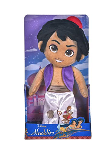 Posh Paws 37280 Disney Aladdin Soft Puppe in Geschenkbox, 25 cm, Multi, 30 cm