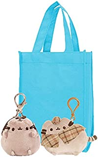 Pusheen Coin Purse and Detective Backpack Clip | 4.5 Plush Detective Backpack Clip and 3