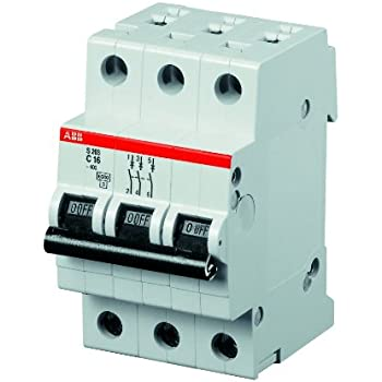 ABB S201-B16 Sicherungsautomat B16A 1-polig 2CDS251001R1165