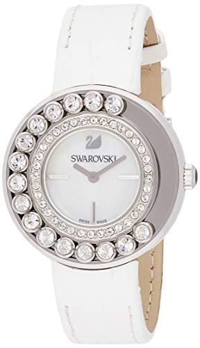 Swarovski 1160308 - Reloj, Correa de Piel de Borrego Color Blanco