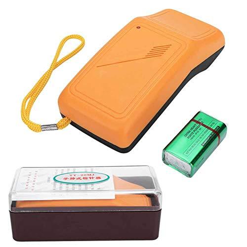 Solomi Naalddetector, Handheld Plastic Hoge Gevoeligheid Metalen Scanner Naaimachine Accessoires met Batterij