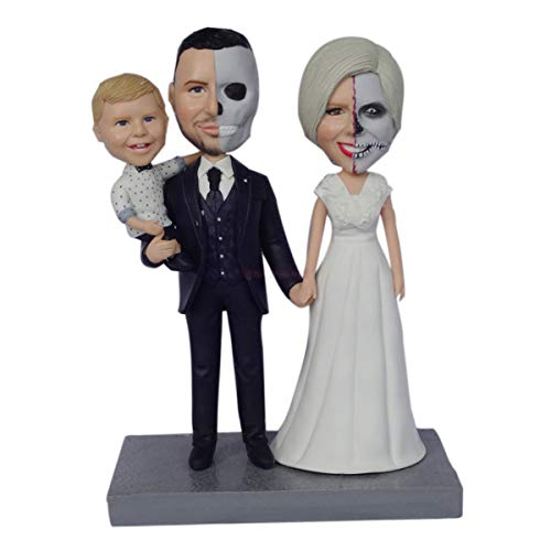 Custom Bobbleheads Personalized Bobble Head Dolls for family members polymer clay figurines dolls 3d figurine maker sculpture