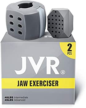 2-Piece JVR Jawline Exerciser for Men and Women